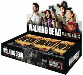 The Walking Dead TV Show Season 1 Cryptozoic Trading Cards Box [24 Packs]