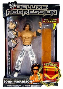 WWE Wrestling DELUXE Aggression Series 14 Action Figure John Morrison [Breakaway Bench]