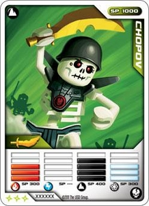 LEGO Ninjago Single Card 13/81 Chopov