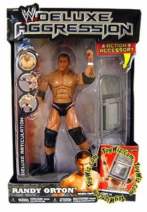 WWE Wrestling DELUXE Aggression Series 14 Action Figure Randy Orton [Denting Chair]