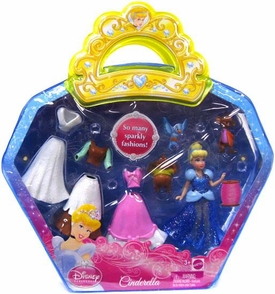 Disney Princess Sparkle Vinyl Pouch Set Cinderella
