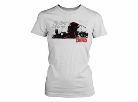 Walking Dead Women's T-Shirt BLAM
