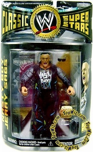 WWE Wrestling Classic Superstars Series 12 Action Figure Jerry Sags (Nasty Boy)
