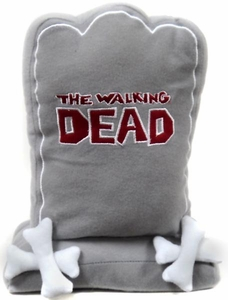 The Walking Dead Plush Figure Gray Tombstone