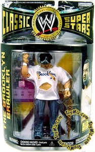 WWE Wrestling Classic Superstars Series 12 Action Figure Brooklyn Brawler [Steve Lombardi]