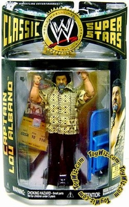 WWE Wrestling Classic Superstars Series 12 Action Figure Captain Lou Albano