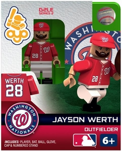OYO Baseball MLB Generation 2 Building Brick Minifigure Jayson Werth [Washington Nationals]
