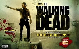 The Walking Dead TV Series Board Game #2 The Best Defense Pre-Order ships April