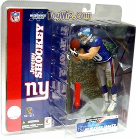 McFarlane Toys NFL Sports Picks Series 7 Action Figure Jeremy Shockey (New York Giants) Blue Jersey BLOWOUT SALE!