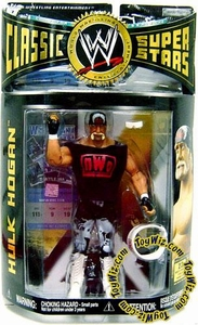 WWE Wrestling Classic Superstars Series 12 Action Figure Hulk Hogan with NWO Shirt