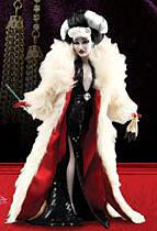 Disney Villains Exclusive 11.5 Inch Designer Collection Doll Cruella de Vil