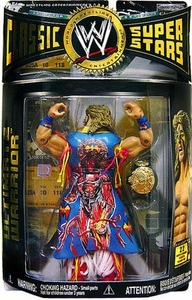 WWE Wrestling Classic Superstars Series 12 Action Figure Ultimate Warrior with Duster [Backwards Variant]