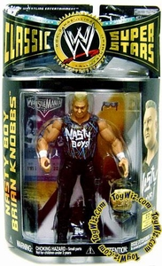 WWE Wrestling Classic Superstars Series 12 Action Figure Brian Knobbs (Nasty Boy)