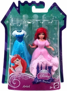 Disney Princess Little Kingdom Figure Ariel [Glitter Stretch Fashion]