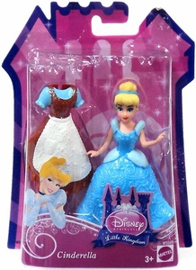 Disney Princess Little Kingdom Figure Cinderella [Glitter Stretch Fashion]