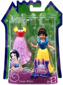 Disney Princess Little Kingdom Figure Snow White [Glitter Stretch Fashion]