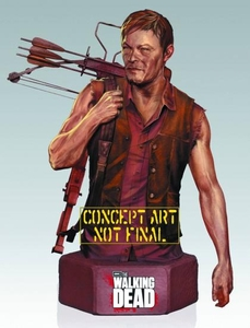 Gentle Giant Walking Dead TV Mini Bust Daryl Dixon Pre-Order ships March