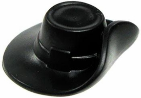 LEGO LOOSE Accessory Black Cavalier Hat