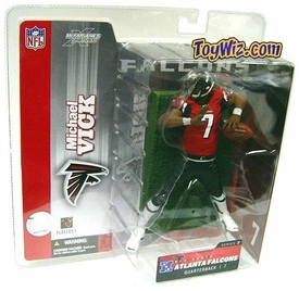 McFarlane Toys NFL Sports Picks Series 7 Action Figure Michael Vick (Atlanta Falcons) Red Jersey Variant