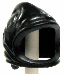 LEGO LOOSE Headgear Black Peasant Cowl