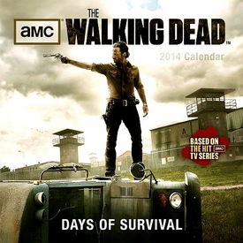 The Walking Dead 2014 Wall Calendar Days of Survival