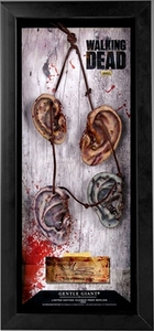 Walking Dead Daryl Dixon's Walker Ears Necklace Prop Replica with Display Case Pre-Order ships August