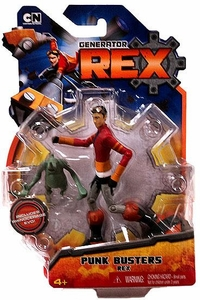 Generator Rex 4 Inch Action Figure Punk Busters Rex