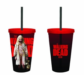 Walking Dead 16oz Cold Cup With Lid & Straw Teddy Girl Pre-Order ships April