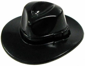 LEGO LOOSE Mini Figure Accessory Black Fedora Hat