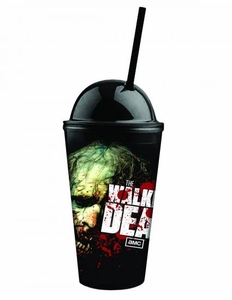 Walking Dead 16oz Cold Cup W/lid & Straw Zombie Pre-Order ships August