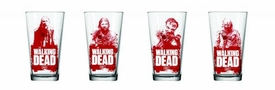 Walking Dead Zombie Red Pint Glass Pre-Order ships April
