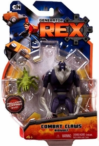 Generator Rex 4 Inch Action Figure Combat Claws Biowulf