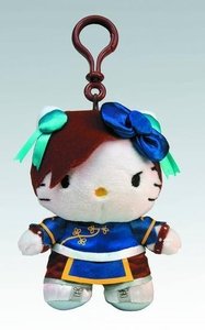 Sanrio X Street Fighter 4 Inch Clip-on Coin Purse Chun Li Pre-Order ships August