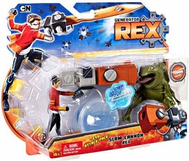 Generator Rex Action Figure Evo Attack Pack Slam Cannon Rex [Includes Tord Evo]