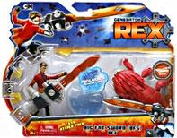 Generator Rex Action Figure Evo Attack Pack Big Fat Sword