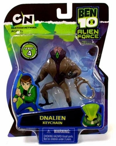 Ben 10 Alien Force Series 4 Keychain DNAlien