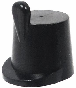 LEGO Pirate LOOSE Accessory Solid Black Naval Shako