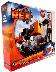 Generator Rex Deluxe Playset Super Slam Cannon