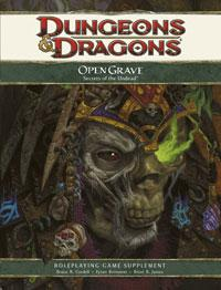 D&D Dungeons & Dragons 4th Edition Open Grave: Secrets of the Undead