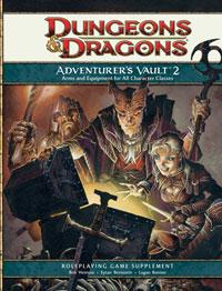 D&D Dungeons & Dragons 4th Edition Adventurer's Vault 2