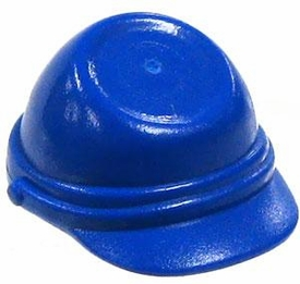 LEGO Western LOOSE Mini Figure Accessory Blue Kepi Cap