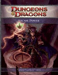 D&D Dungeons & Dragons 4th Edition Arcane Power