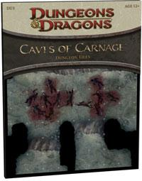 D&D Dungeons & Dragons 4th Edition DU3 Dungeon Tiles: Caves of Carnage