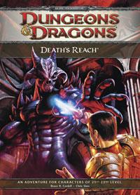 D&D Dungeons & Dragons 4th Edition E1 Death's Reach