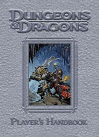 D&D Dungeons & Dragons 4th Edition Deluxe Players Handbook
