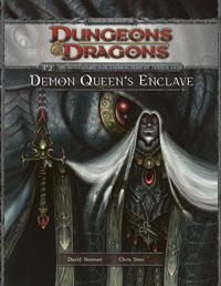 D&D Dungeons & Dragons 4th Edition P2 Demon Queens Enclave