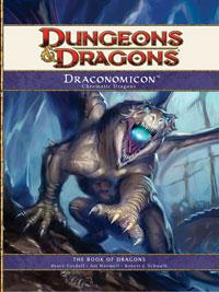 D&D Dungeons & Dragons 4th Edition Draconomicon I: Chromatic Dragons