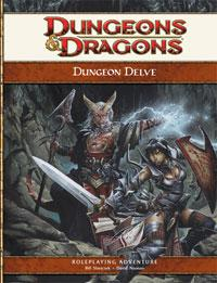 D&D Dungeons & Dragons 4th Edition Dungeon Delve