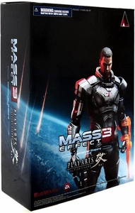 Play Arts Square Enix Kai Mass Effect 3 Action Figure Commander Shepard
