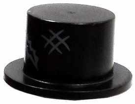 LEGO LOOSE Mini Figure Accessory Top Hat with Tear & Scuff